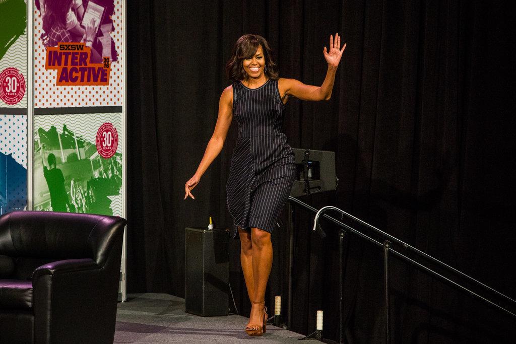 Barack Obama : Michelle et ses deux filles, ses atouts