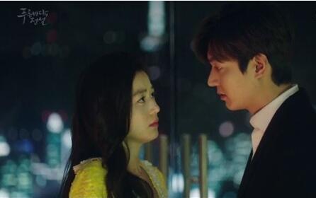 月火韓国ドラマ「青い海の伝説」-第19話、悲しい別れのキス