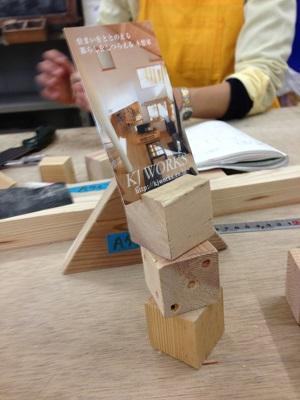 積み木とサイコロ、どっちも作りたい!っていうイベント開催!
