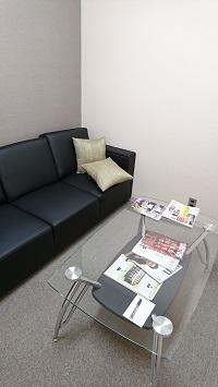 神戸三田法律事務所の待合室