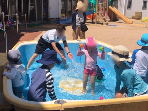 マミーず広場(水遊び)