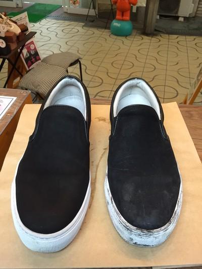 スニーカーのクリーニング!! 川西能勢口駅、川西池田駅で「靴のクリーニング」ならクツショウテン!