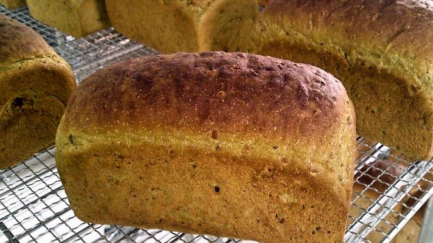 本日の玄米パン!