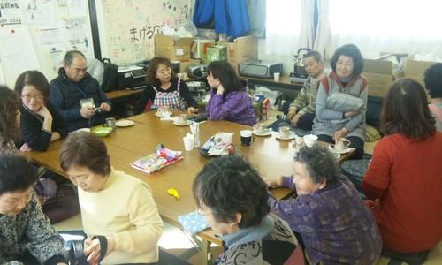 かめちゃんCafe in 仮設住宅談話室3