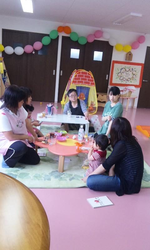 かめちゃんCafe in 陸前高田市内の子育て支援センター