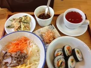 コラボ食堂で、韓国ランチ~