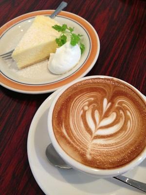 やっと、奈良のカフェcordさんでお茶することができました!