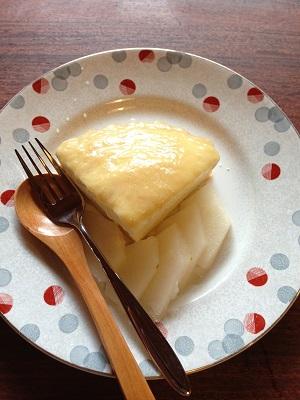 朝からごめんなさい!レモンパイいただきました!