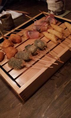 三田市の美味しい串カツ