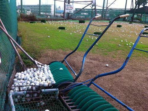 ゴルフの小技 猛練習