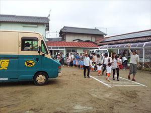 ヤマト運輸子供交通安全教室