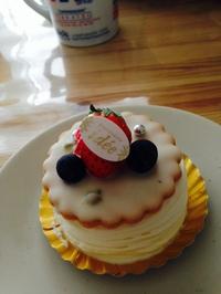 うまいケーキ