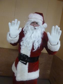 サンタさんがやってきた♪