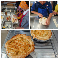 アップルパイを作ろう!!イベントの報告です。