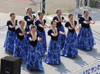 大阪ロハスフェスタでフラダンス!