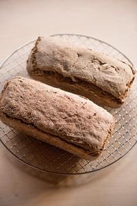 今日のパン〜ライ麦100%のライ麦パン〜