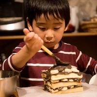 今年も手作りバースデーケーキでお祝い 2017/02/16 19:56:32