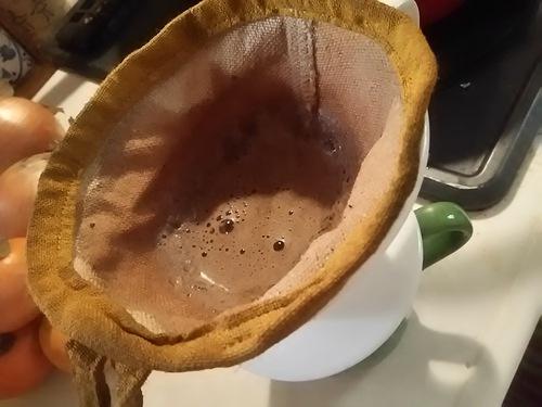ヘンプ素材のコーヒーフィルター
