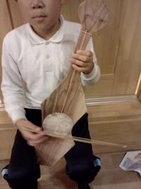 手作り楽器=ガランピー♪