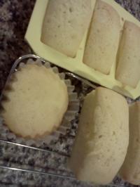 レモンケーキ作ってみました♪