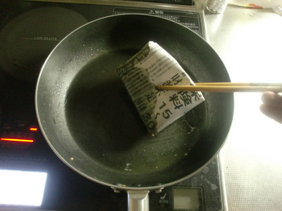 茹で汁で油汚れをスルッと落とす