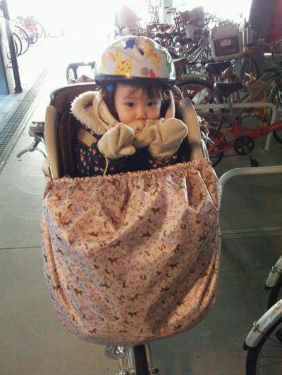 :子供乗せ自転車の手作り ...