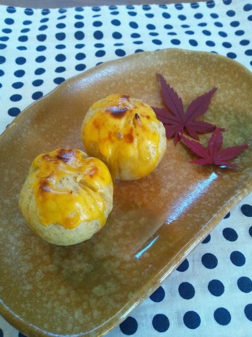秋のおやつ☆さつま芋の茶巾、スイートポテト風 レシピ