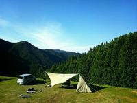 夏休み最後のキャンプは断崖絶壁!