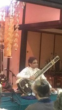 交野のお寺deインド音楽を楽しみました☆