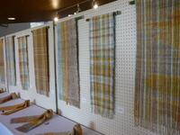 行って来ました!草木染・織り教室作品展