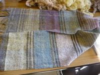 羊の教室12月~草木染め、織り教室 その3