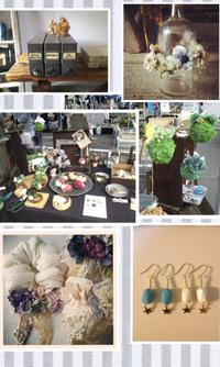 ◇◆【ブースH-37】 アクセサリーとお花のお店◇◆