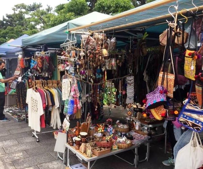 アジアン雑貨マーケット開催