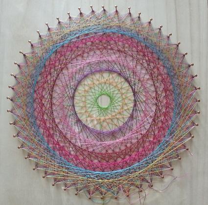 糸かけ曼荼羅