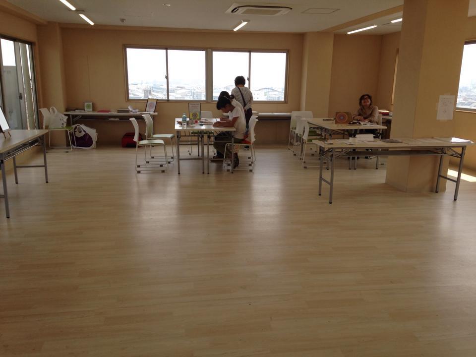 8月1日(土) 糸かけマンダラ作品展