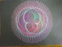 宇宙に描き出される美しい五芒星・バラ - 金星軌道