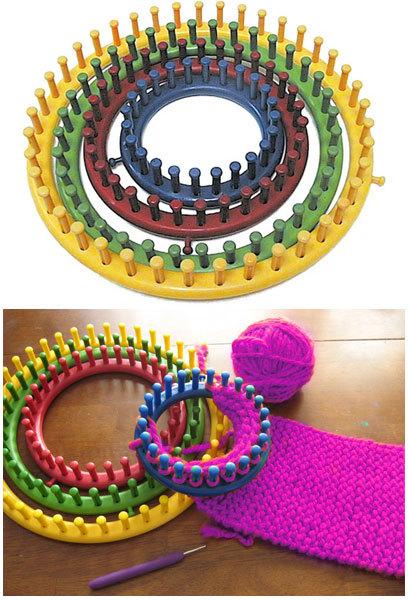 ニフティ ニッター(Knifty Knitter) 円型 編み機