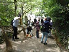 【NEWS】園路のボランティア整備・清掃を行っていただきました!