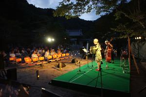 -終了しました- 真夏の夜をいろどる、多彩な音・うた 8月24日 第25回箕面の森の音楽会