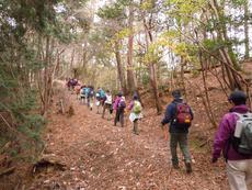 -終了しました- 2月25日 楽しむ、冬の低山ハイク-行者にならう山旅へ-