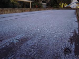 <冬期>路面凍結にご注意ください!
