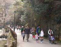 早春の箕面、めぐって楽しい! 3月16日春のこどもフェスティバル~謎解き滝道ウォークラリー~