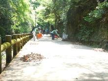 -終了しました- 5月11日(木)滝道の落葉そうじ ちょこっとボランティア