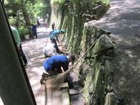 5/11終了しました 滝道落葉清掃 ちょこっとボランティア