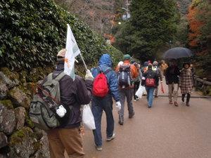 箕面の山パトロール隊 クリーンハイキング2月