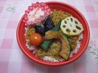12月 野菜と大豆ミートのキーマカレー 500円