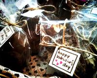 バレンタイン用お菓子。
