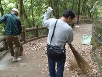 【トピックス】滝道のボランティア清掃を行っていただきました!