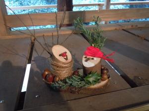 【イベント】12月15日 自然工作クリスマスオーナメント作り