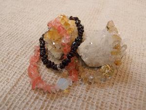 天然石のブレスレット 2012.1.16